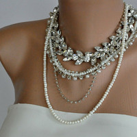 NEW Collection Chunky Bridal Freshwater Pearl and by kirevi8