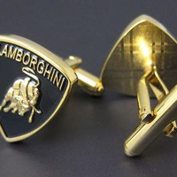 Lamborghini Cufflinks - Car Logo - Novelty Cufflinks