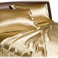 Divatex Home Fashions Royal Opulence Satin Sheet Set
