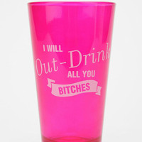Out-Drink Pint Glass