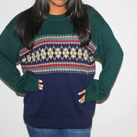 Oversize Vintage Sweater 80&#x27;s
