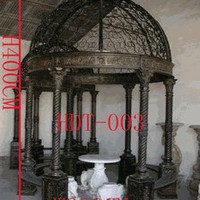 Metropolitan Galleries INZ275 Gazebo Iron with Corinthian Columns