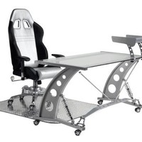 Car Guy Garage: Silver Automotive Office Furniture | View hundreds of customer photos for ideas