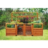 Amazon.com: Raised-Bed Gardening System - 8ft. x 8ft., Model# 6309: Home Improvement