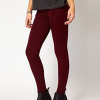 River Island Ponte Legging at asos.com