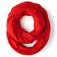 Start with the Basics Circle Scarf in Pepper | Mod Retro Vintage Scarves | ModCloth.com