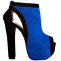 Luichiny - Hang Of This - Cobalt Black Suede
