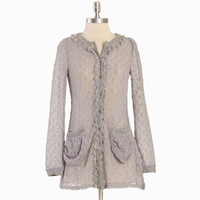 viola lace knit cardigan - $64.99 : ShopRuche.com, Vintage Inspired Clothing, Affordable Clothes, Eco friendly Fashion