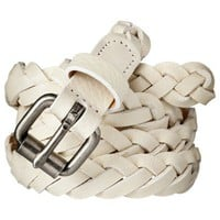 Merona® Braid Belt - White