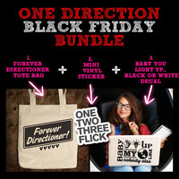 Directioner Black Friday Bundle - (One Direction 1D Laptop Decal Sticker Tote Bag Mac Geekery)