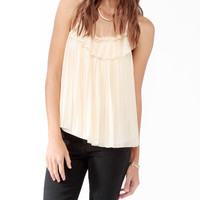 Pleated Lace Swing Top | FOREVER21 - 2025100839