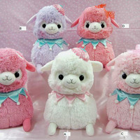 Alpacasso Arpakasso 5 Lovely Baby plus 3-- SET Plush Genuine Amuze Japan