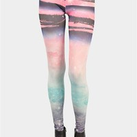 Blast Off Legging - Multi at Necessary Clothing