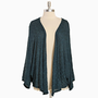 sierra nevada open cardi in deep teal - $34.99 : ShopRuche.com, Vintage Inspired Clothing, Affordable Clothes, Eco friendly Fashion