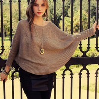 Sparkle Knit Poncho in Other Ways To Shop New Arrivals at Frock Candy
