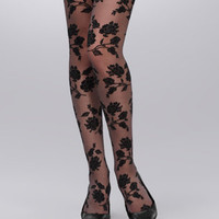Floral Tights | Windsor Floral Tights | fredflare.com