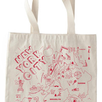 New York City Grocery Tote – Graffiti Beach