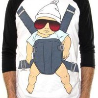 ROCKWORLDEAST - The Hangover, Baseball Jersey Shirt, Baby Carrier