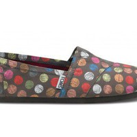 Women - Hand Drawn Dots Ash Women's Classic | TOMS.com