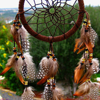 Mini Brown Dream Catcher