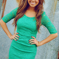 Call Me Maybe Dress: Kelly Green | Hope&#x27;s