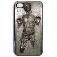 iPhone 4 4s Case, Han Solo Frozen Carbonite Star Wars