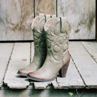 Grey Smoke Cowboy Boots, Rugged Boots & Shoes
