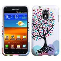 For US Cellular Samsung Galaxy S 2 II HARD Case Snap On Phone Cover Love Tree