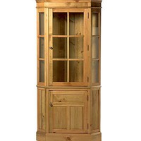 Glass-Front Corner Cupboard - Plow & Hearth