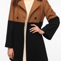 Pins & Needles Colorblock Mod Coat