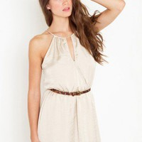 Split Halter Dress