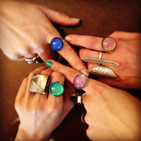 Sterling Silver Mood Rings