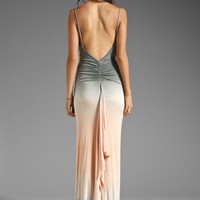 Young, Fabulous &amp; Broke Lavinia Maxi Dress in Grey Double Ombre from REVOLVEclothing.com