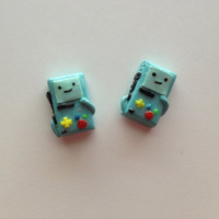 Adventure Time- Beemo Earrings