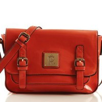 Amazon.com: Noble Mount Buttermade Crossbody Handbag - Coral: Clothing