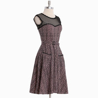 jackie dress in lace print by Effie's Heart