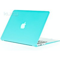 "Amazon.com: Kuzy - AIR 13-inch Shocking Hot BLUE Rubberized Hard Case Satin for NEW Apple MacBook Air 13.3"" (A1369 and A1466) Aluminum Unibody SeeThru Cover: Computers & Accessories"
