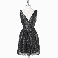 midnight minuet lace dress