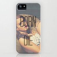Lana Del Rey Born To Die iPhone Case by Toni Miller | Society6