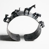 Wild Animal Cuff: Kristin Lora: Silver Bracelet - Artful Home