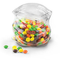 ThinkGeek :: Unzipped Glass Snack Bag