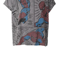 Spiderman Comic Strip
