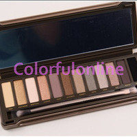 Pro New 12 Color Nude Warm Eye Shadow Eyeshadow Makeup Cosmetic Palette