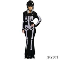Lace Skeleton Adult Women?s Costume
