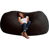 Walmart: XXL 7&#x27; Fuf Comfort Suede Bean Bag, Multiple Colors