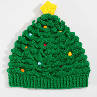 Christmas Tree Hat | San Diego Hat Co Christmas Cap | fredflare.com