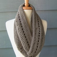 PDF PATTERN - Phoebe Infinity Scarf - by PurpleStardust on Etsy.. Permission to Sell