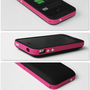 2000 mAh Charging External Charger Backup Battery Case for iPhone4 4S 4 Pink