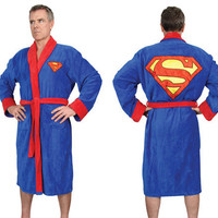 Superman Bathrobe at Gent Supply Co.
