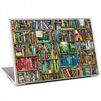 Gelaskins 17in Laptop Skin, Bookshelf | X-treme Geek